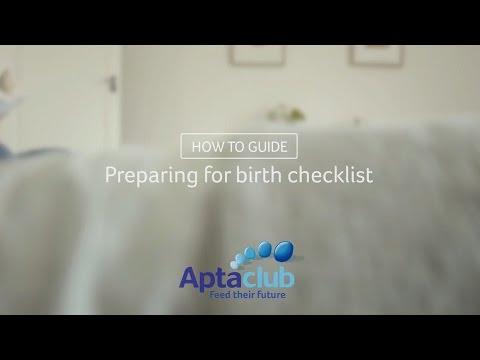 Checklist, Preparing for birth (Guide)