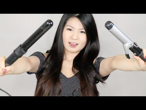 What to Get: Curling Iron Vs. Curling Wand | Eva Chung