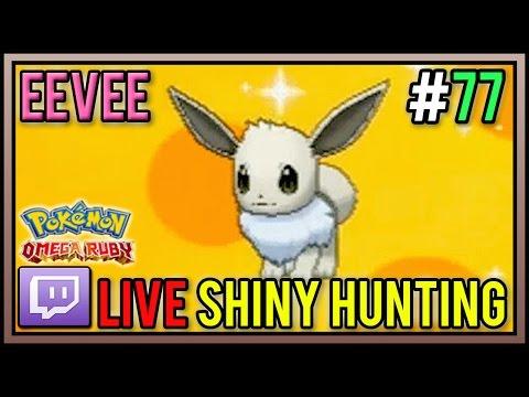 Live Shiny Eevee at 252 Eggs From Masuda Method | Shiny Pokemon #77 | Pokemon ORAS