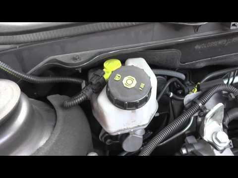 Vauxhall Insignia Brake Fluid Location