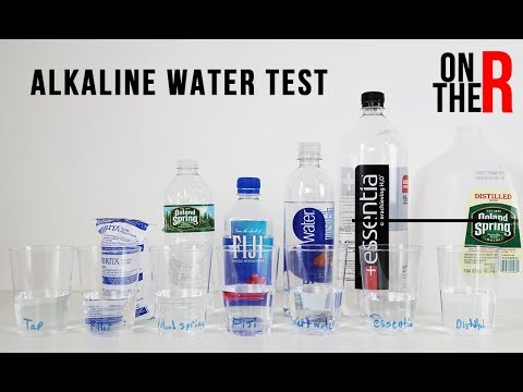 ARE YOU DRINKING ACID WATER? BOTTLED WATER PH LEVEL TEST