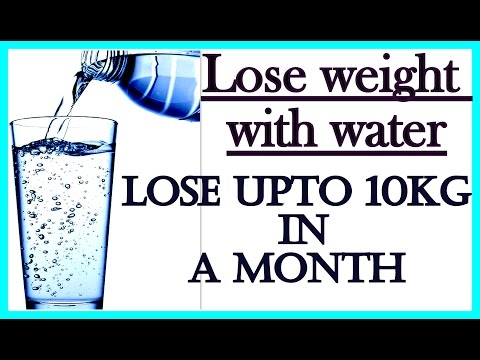 How to Drink Water to Lose Weight 10 Kgs in 1 Month | No-Diet, No-Exercise | 100% Effective