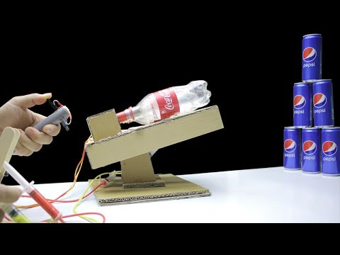 How to Make a POWERFUL CANNON with 3 Barrels from Cardboard - Mr h2 Diy
