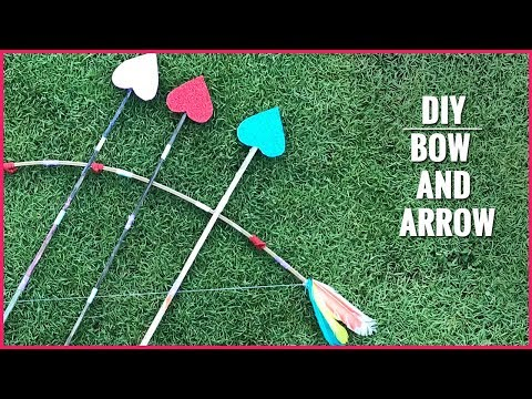 DIY | How to Make a Bow and Arrow?