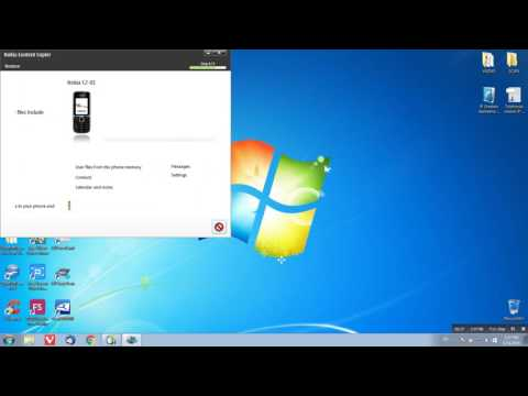 Restore data to Nokia C2-01
