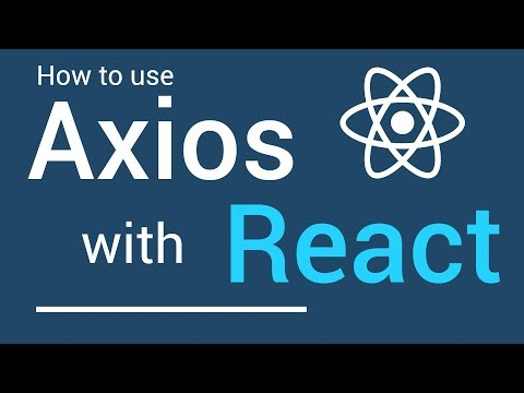 How to use Axios with React