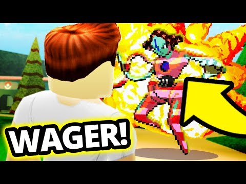 AURA DEOXYS WAGER IN PROJECT POKEMON!