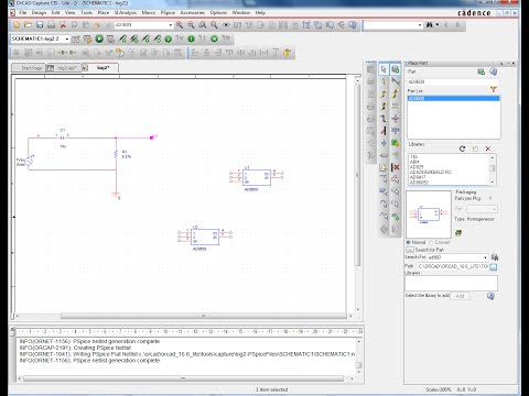 How to import  cir spice model and convert to  olb part for orcad capture using a model editior