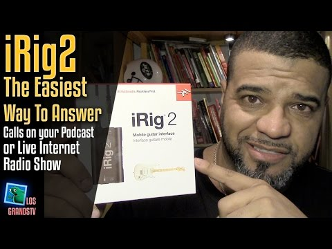 Use iRig2 To Make/Take Live Cell Phone Calls On Your Internet Radio ☎️ +🎤 : LGTV Review