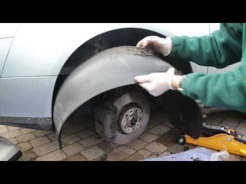 VW  Passat B6 Removal and Replacement of Wheel Arch liner