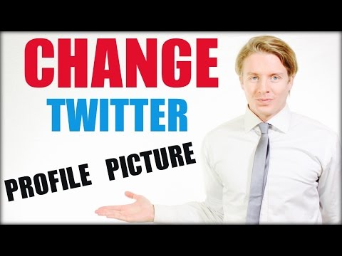 How to change Twitter profile picture / photo - 2016 tutorial