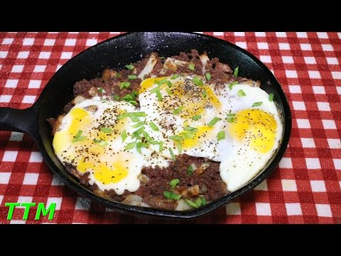 How to Make Corned Beef Hash in the Toaster Oven