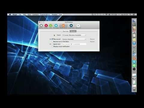 How to fix annoying mac blip plop Skype notification sound