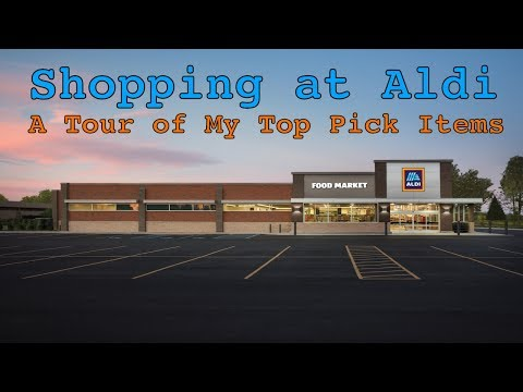 Shopping at Aldi — My Favorite Items and Ways to Save