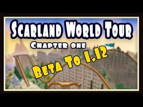 Beta Minecraft To Present, World Tour Of Scarland - part 1