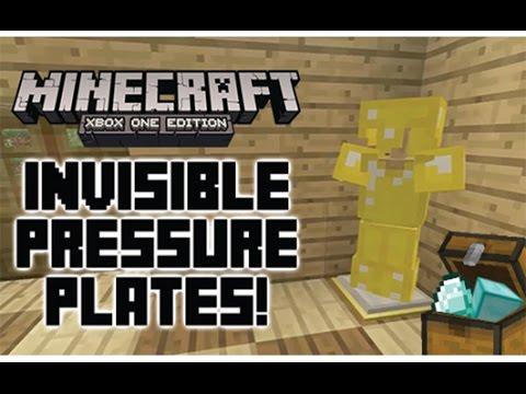 Minecraft Xbox Tutorial: Invisible Pressure Plates!