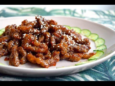 Crispy Chilli Beef | DUMPLING SISTERS
