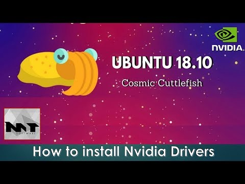 How To Install Nvidia Drivers on Ubuntu 18.10