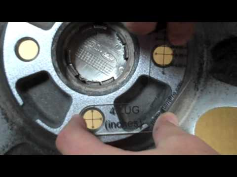 Measuring 4-Lug Wheel with Bolt Pattern Pro
