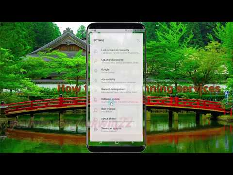 Android Nougat : How to View Running services in Samsung Galaxy S8 or S8+