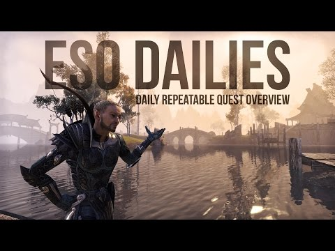 ESO Dailies - Overview of the Daily Repeatable Quests in the Elder Scrolls Online