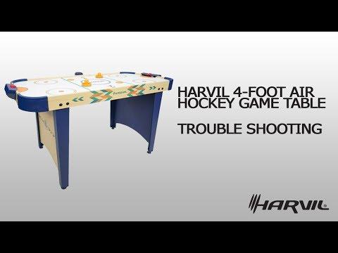 Trouble Shooting | Harvil 4 Foot Air Hockey Table 86046 | Air Hockey Table | Dazadi.com