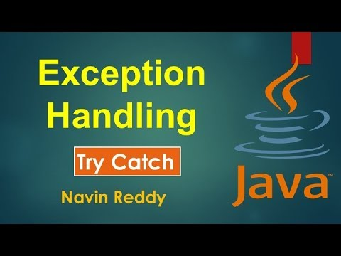 #9.1 Java Tutorial | Exception Handling Try Catch