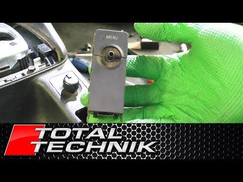 How to Remove Menu Select Button - Audi A6 S6 RS6 - C5 - 1997-2005 - TOTAL TECHNIK