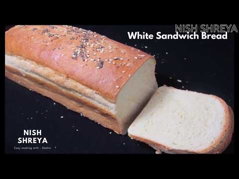 White Sandwich Bread Recipe | Fresh & Super Moist Bread
