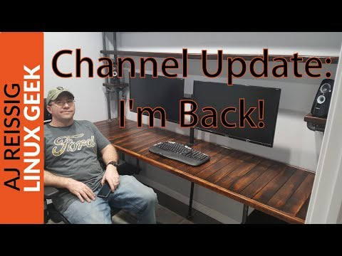 Channel Update:  I'm Back