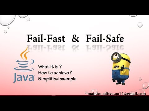 FailFast and FailSafe in Java