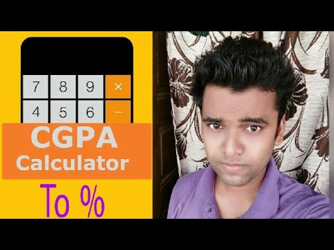 How to Calculate CGPA | Calculate CGPA to Percentage % Easy Method
