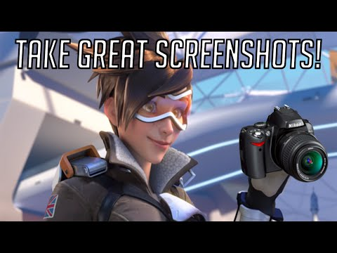 How To Take Great Screenshots In Overwatch!  Video Tutorial