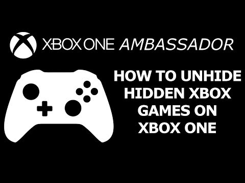 How To Unhide Your Hidden Games on the new Dashboard (Xbox One) | Xbox Ambassador Series