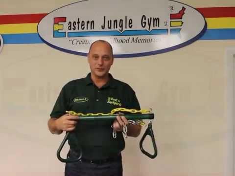 Gym Ring Trapeze Bar Combo Swing
