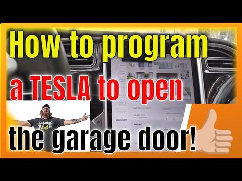 Tesla Model S Garage Door HomeLink Easy Programming