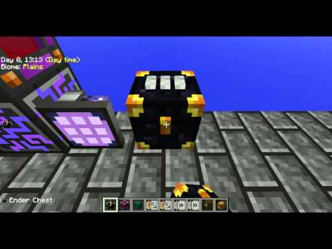 Skyfactory how to: Hook ender chest to ME
