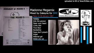 Madonna Megamix (DMC Mix by Dakeyne January 1987)