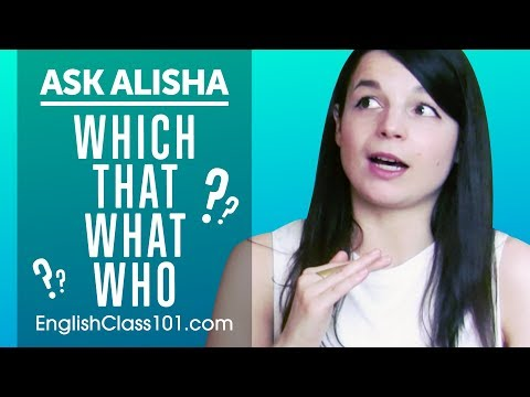 How to Use Relative Pronouns & Clauses in English? Ask Alisha