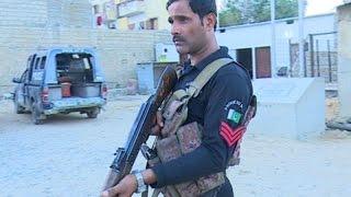 Brave policeman of Karachi