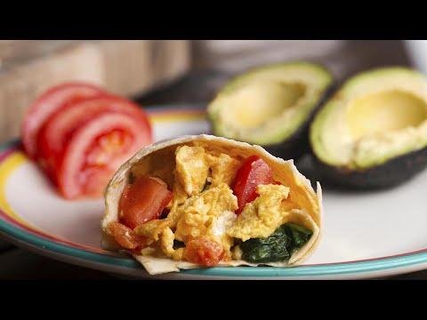 Freezer-Prep Breakfast Burritos