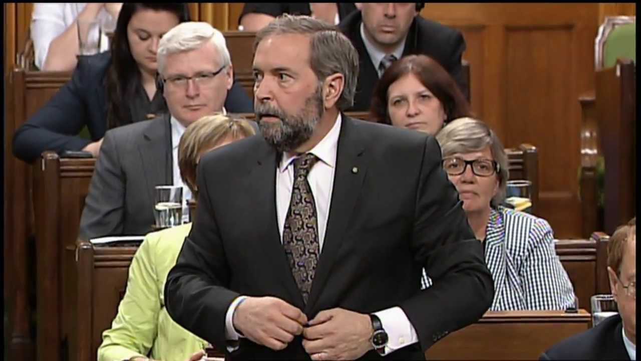 More Question Period: Mulcair Questions Prime Minister