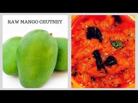 Raw Mango Chutney Recipe. It's A Traditional South Indian Recipe By Ayesha's World In Urdu/Hindi.