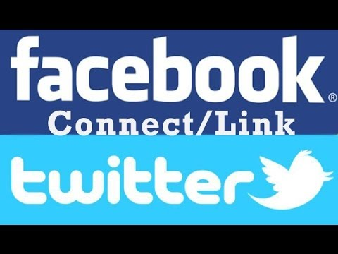 How to Connect/Link Your Twitter Account to Facebook Fan Page