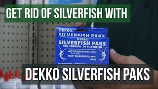 How To Get Rid Of Silverfish With Baits