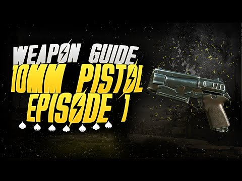 Fallout 4 - Weapon guide / Episode 1 / 10mm Pistol