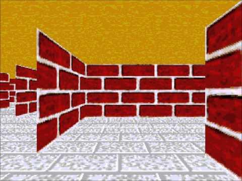 Windows 3D Maze Screensaver
