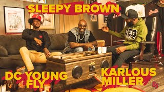 😂😂😂SLEEPY BROWN IN THE TRAP! w/ DC YOUNG FLY \u0026 Karlous Miller #85southshow
