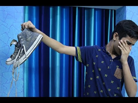 The end of foul smelling shoes (hindi)