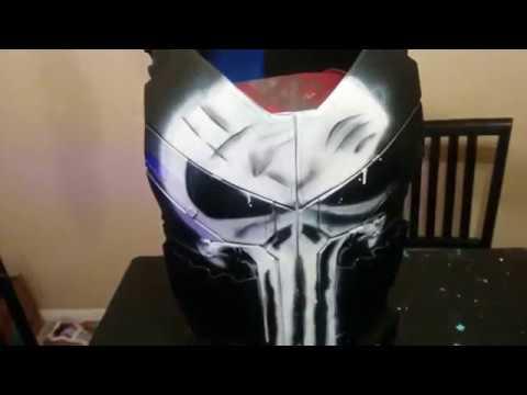 Netflix Punisher Body Armor DIY cosplay build